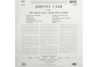 Johnny Cash - Sings The Songs That Made Him Famous  - (Vinyl)