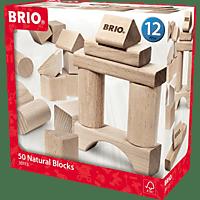BRIO Holzbausteine Bausatz, Natur