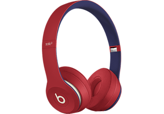 BEATS Solo3 Wireless Club Collection (2019) - Cuffie Bluetooth (On-ear, Rosso Club)