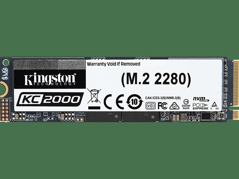KINGSTON KC2000, 250 GB mSSD, intern