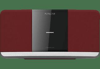 GRUNDIG WMS 3000 BT DAB+ Kompaktanlage (Rot)