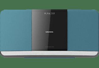GRUNDIG WMS 3000 BT DAB+ Kompaktanlage (Blau)