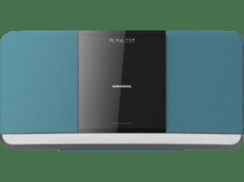 GRUNDIG WMS 3000 BT DAB+ Kompaktanlage (USB, DAB+, FM, Bluetooth, CD, Blau)