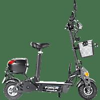 FORCA SPORT 5002208 REVOLUZZER CITYSPEEDSTER 20 KM/H - SAFETY E-Roller (4 Zoll, Schwarz)
