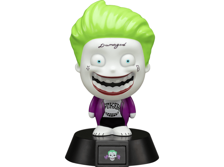 PALADONE PRODUCTS Icon Licht: Suicide Squad - Joker Lampe, Mehrfarbig