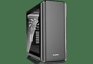 BE QUIET Silent Base 801 Window Gaming PC Gehäuse, Schwarz/Silber