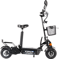 FORCA SPORT 5002207 REVOLUZZER CITYSPEEDSTER - BASE E-Roller (4 Zoll, Schwarz)
