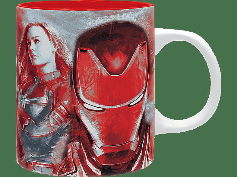 ABYSTYLE Marvel Tasse Avengers Tasse, Mehrfarbig