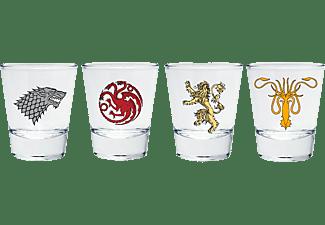 Game of Thrones Schnapsgläser Emblem