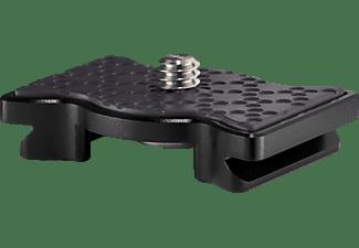 JOBY QR Plate 3K PRO Flach Schnellwechselplatte, Schwarz, Höhe offen bis 3 cm