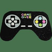 PUCKATOR Controller Fußmatte Game Over Fussmatte, Schwarz/Mehrfarbig
