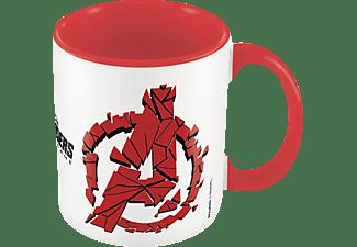 Marvel Avengers: Endgame Tasse Shattered Logo