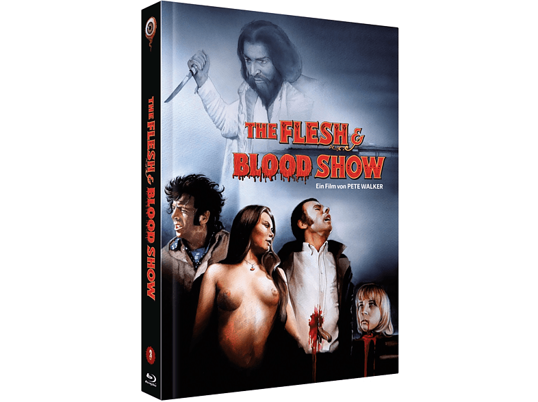 The Flesh & Blood Show  Mediabook Cover C [Blu-ray + DVD]