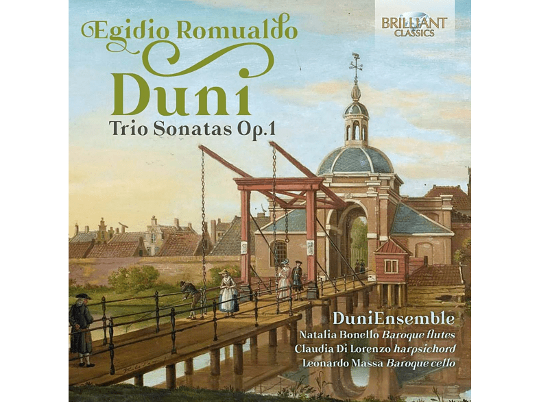 Duni Ensemble - Duni:Trio Sonatas op.1 [CD]