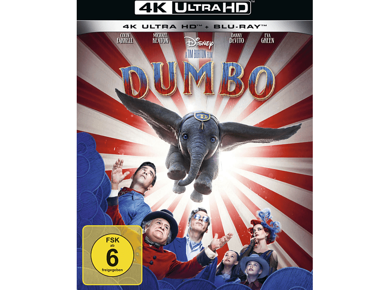Dumbo (Live-Action) [4K Ultra HD Blu-ray + Blu-ray]