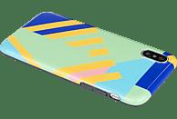 TUCANO Shake , Backcover, Apple, iPhone X, iPhone XS, Thermoplastisches Polyurethan, Thermoplastische Elastomere, Blau