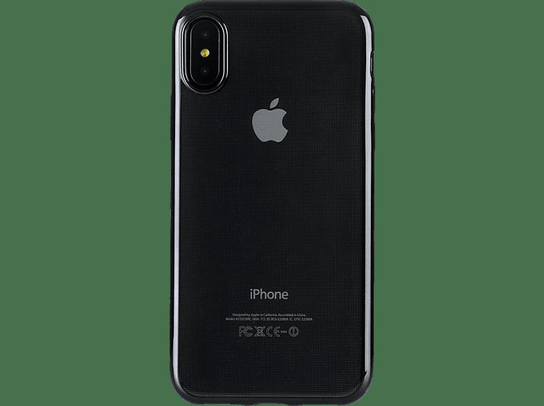 TUCANO Elektro Flex , Backcover, Apple, iPhone XS Max, k.A., Schwarz