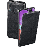 HAMA Smart Case , Flip Cover, Samsung, Galaxy A40, Leder (Obermaterial), Schwarz
