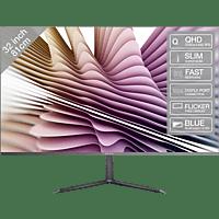 PEAQ PMO Slim S320 31,5 Zoll WQHD Monitor (5 ms Reaktionszeit, 60 Hz)