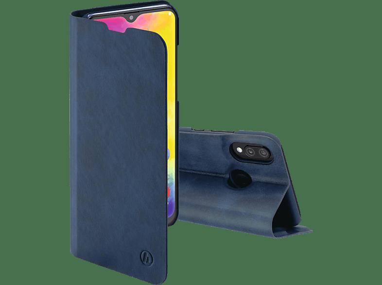 HAMA Guard Pro , Bookcover, Samsung, Galaxy M20, Kunstleder, Blau