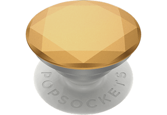 POPSOCKETS 800938 Metallic Diamond Medallion Gold - Poignée et support de téléphone portable (Or)