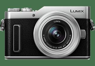 PANASONIC Systemkamera Lumix DC-GX880 mit Objektiv G Vario 12-32mm, Silber (DC-GX880K-S)