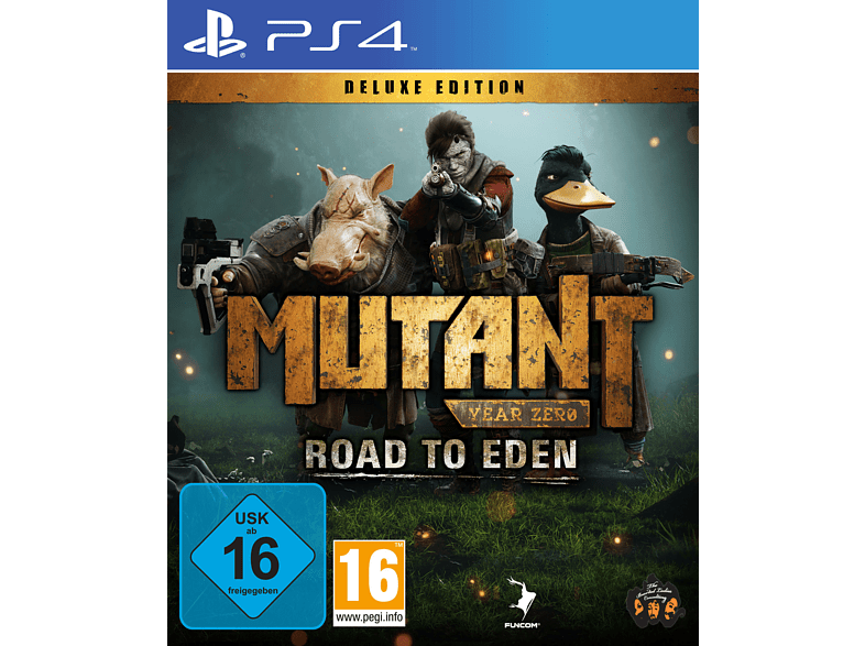 Mutant Year Zero: Road to Eden (Deluxe Edition) [PlayStation 4]