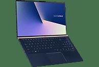 ASUS ZenBook 15 (UX533FD-A8153T), Notebook mit 15.6 Zoll Display, Core™ i5 Prozessor, 8 GB RAM, 512 GB SSD, GeForce® GTX 1050 MAX Q, Royal Blue