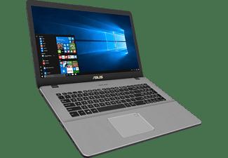 ASUS VivoBook Pro 17 (N705FN-GC008T), Notebook mit 17,3 Zoll Display, Core™ i5 Prozessor, 8 GB RAM, 256 GB SSD, 1 TB HDD, GeForce® MX150, Grau
