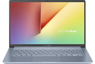 ASUS VivoBook 14 (R428FA-EB162T), Notebook mit 14 Zoll Display, Core™ i3 Prozessor, 4 GB RAM, 256 GB SSD, Intel® UHD-Grafik 620, Silver Blue