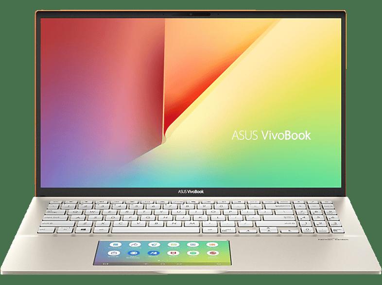 ASUS VivoBook S15 (S532FL-BN035T), Notebook mit 15.6 Zoll Display, Core™ i7 Prozessor, 16 GB RAM, 512 GB SSD, GeForce® MX250, Moss Green