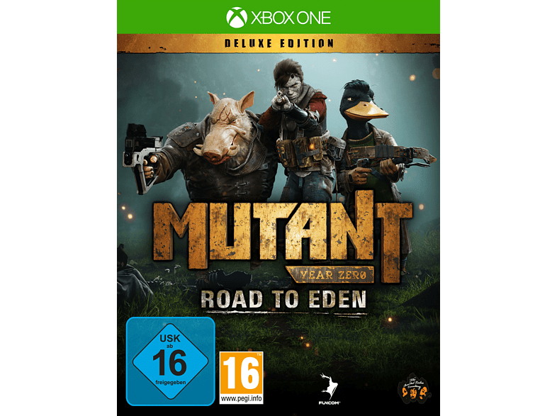 XBO MUTANT YEAR ZERO: ROAD TO EDEN (DELUXE EDIT.) [Xbox One]