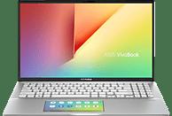 ASUS VivoBook S15 (S532FA-BN024T), Notebook mit 15.6 Zoll Display, Core™ i7 Prozessor, 8 GB RAM, 512 GB SSD, Intel® UHD-Grafik 620, Transparent Silver
