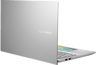 ASUS VivoBook S15 (S532FA-BN014T), Notebook mit 15.6 Zoll Display, Core™ i5 Prozessor, 8 GB RAM, 256 GB SSD, Intel® UHD-Grafik 620, Transparent Silver