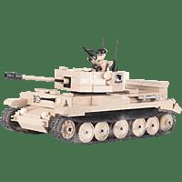 COBI World of Tanks - Bausatz Cromwell (505 Teile) Bausatz, Beige/Braun