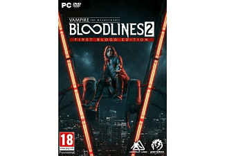 PC Vampire: The Masquerade - Bloodlines 2 - First Blood Edition