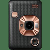 FUJIFILM instax mini LiPlay Sofortbildkamera, Elegant Black