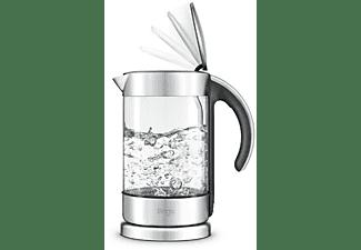 SAGE SKE750CLR4EEU1 The Crystal Clear Wasserkocher, Silber/Transparent