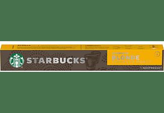 Cápsulas monodosis - Starbucks Blonde Espresso Roast, 10 cápsulas, Intensidad 6, Para  Nespresso