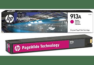 Cartucho PageWide - HP 913A, Magenta, F6T78AE