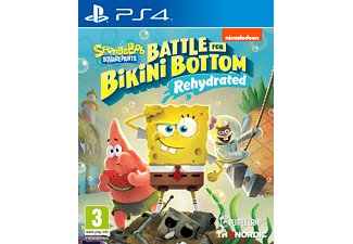 PS4 - SpongeBob SquarePants: Battle for Bikini Bottom - Rehydrated /D