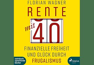Jan Katzenberger - Rente Mit 40-Finanzielle Freiheit Und Glück Durc  - (MP3-CD)