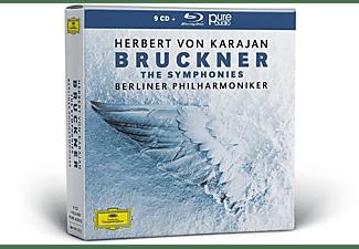 Herbert von Karajan, Berliner Philharmoniker - Bruckner-Die Sinfonien  - (CD + Blu-ray Audio)