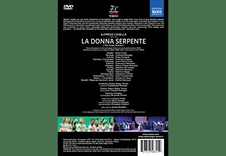 Orchestra and Chorus Teatro Regio Torino, VARIOUS - La donna serpente  - (DVD)