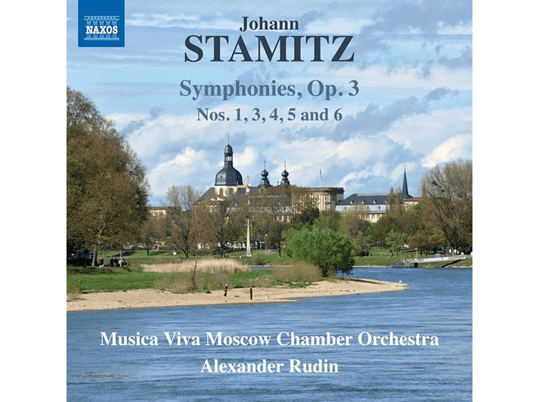 Musica Viva Moscow Chamber Orchestra, Alexander Rudin - Symphonies,op.3 [CD]