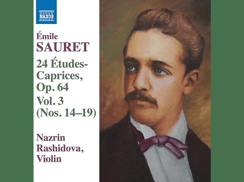 Nazrin Rashidova - 24 Études Caprices,op.64 [CD]
