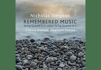 Zelkova Quartet, Charlotte Trepess - Remembered Music  - (CD)