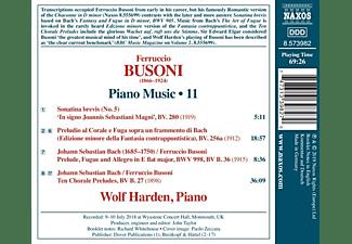 Wolf Harden - Klaviermusik,Vol.11  - (CD)