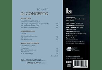 Guillermo Pastrana, Daniel Blanch - Sonata Di Concerto  - (CD)