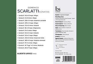 Alberto Urroz - Scarlatti Sonaten  - (CD)